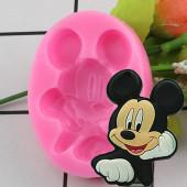 Molde Silicone Mickey