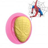 Molde Silicone Spiderman