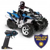 Mota Telecomandada Xtrem Raiders Police Rider