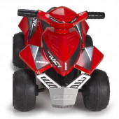 Moto Elétrica Feber Quad Racy Vermelha 6V