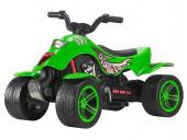 Moto Quatro Pedais Verde Falk