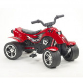 Moto Quatro Pedais Vermelha Falk