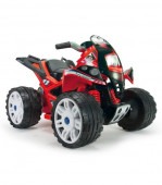 Moto Quatro The Beast 12V Vermelha