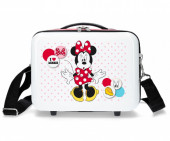 Necessaire ABS Disney Adap Trolley Minnie Mouse