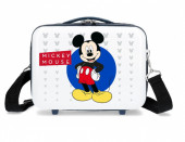 Necessaire ABS Viagem Adaptada Trolley Mickey Mouse Disney