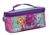 Necessaire c/ purpurina Patrulha Pata - Girl Pup Power