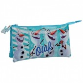 Necessaire estojo Frozen Olaf Happy