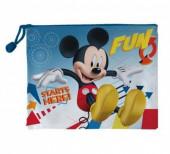 Necessaire transparente Mickey Fun Starts Here 23.5cm