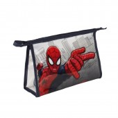 Necessaire transparente multiusos do Homem Aranha