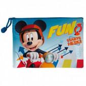 Necessaire transp.Mickey Fun Starts Here29.5cm
