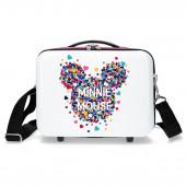 Necessaire Viagem ABS Adap. Trolley Minnie Magic Hearts