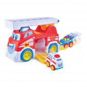 O meu Primeiro Carro Bombeiros Happy Kid 12+