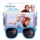 Óculos de Sol + Carteira Frozen 2 Disney