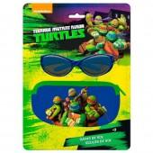 Oculos Sol+ Bolsa Tartarugas Ninja