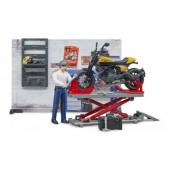 Oficina Motos com Ducati Scrambler Bruder