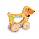 Oops Brinquedo Mão Madeira Cão