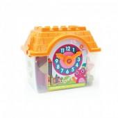 OOPS Casa laranja com blocos