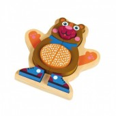 Oops Puzzle 3D Madeira 9 pçs Urso