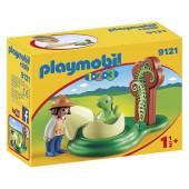 Ovo Dinossauro Playmobil 123