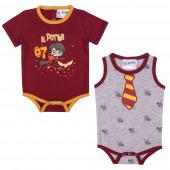 Pack 2 Bodys Bebé Harry Potter
