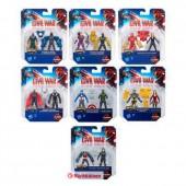 Pack 2 figuras Capitão América Avengers - sortido