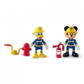 Pack 2 figuras Mickey + Donald da Disney