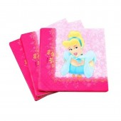 Pack 20 Guardanapos festa Princesas Disney