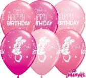 Pack 25 Balões Minnie 11