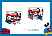 Pack 3 meias Mickey Disney