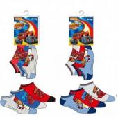Pack 3 meias soquetes do Blaze - sortido