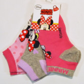 Pack 3 Meias Soquetes Minnie