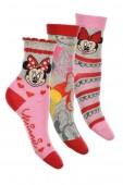 Pack 3 mini-meias de Minnie Mouse