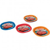 Pack 3 Pratos Picnic Disney Cars