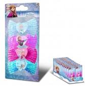 Pack 4 elásticos com laço de Frozen