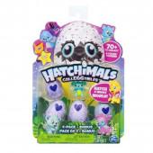 Pack 4 Ovos + 1 Figura Hatchimals serie 1