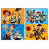 Pack 4 Puzzles Brinde Toy Story