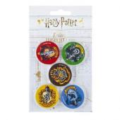 Pack 5 Borrachas Harry Potter