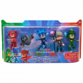 Pack 5 Figuras Pj Masks Super Moon
