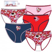 Pack 5 slips de Minnie Mouse