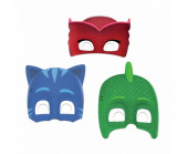 Pack 6 Máscaras PJ Masks