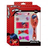 Pack 8 acessorios cabelo Ladybug