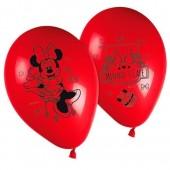 Pack 8 baloes festa Minnie