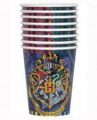 Pack 8 copos descartáveis Harry Potter