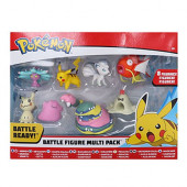 Pack 8 Figuras Combate Pokémon