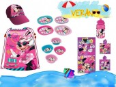 Pack Acessórios Praia Minnie Mouse - Disney