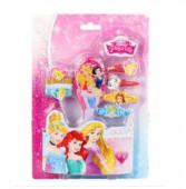 Pack com acessórios cabelo Princesas da Disney