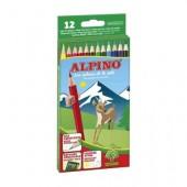 Pack de 12 lápis de cor - Alpino