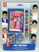 Pack escolar One Direction 5 peças