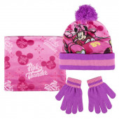 Pack Gorro + luvas + cachecol  Polar Minnie