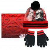 Pack Gorro + luvas + cachecol  Polar Star Wars
